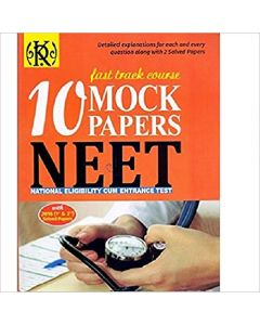 NEET Solved Papers Fast Track Course 10 Mock Test With 2019 1st & 2nd Sample Papers for Medical Entrance 2017