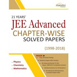 Wiley's 21 Years' JEE Advanced Chapter-Wise Solved Papers (1998 - 2018)