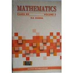Mathematics R D Sharma class 12 (set of two volumes)