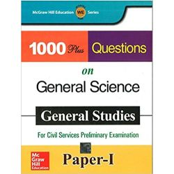1000 Plus Questions On General Science Paper - I (For Civil Services Preliminary Examinations)