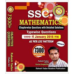 7300 + Ssc Mathematics Chapterwise Questions With Detailed Solution