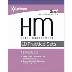 3 Edge Advantage Series - HOTEL MANAGEMENT 10 Practice Sets