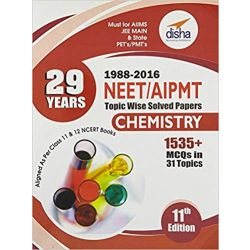 29 Years NEET AIPMT Topic wise Solved Papers CHEMISTRY 1988 to 2016