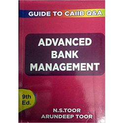 Advance Bank Management - Guide for CAIIB
