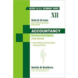 Cbse-Class 12-Accountancy-Past 10 Years Solved Question Papers