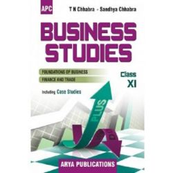 APC Business Studies Textbook For Class 11
