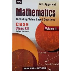 APC Mathematics (Including Value Based Question) Vol 1 & 2 Set For Class 12