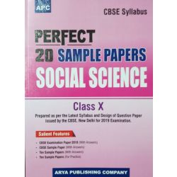 APC PERFECT 20 SAMPLE PAPERS SOCIAL SCIENCE CLASS-X