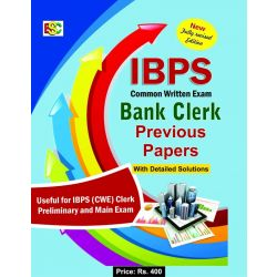 IBPS -CWE BANK CLERK PREVIOUS PAPERS
