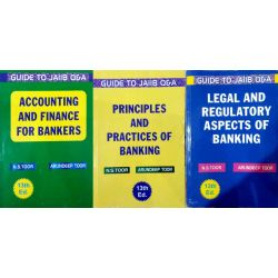 Combo Set For Jaiib 3 Books Set ( Legal , Principles And Accounting )