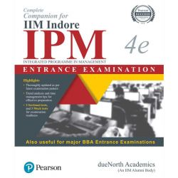 COMPLETE COMPANION FOR IIM INDORE  IPM ENTRANCE EXAM
