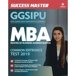 Success Master - GGSIPU MBA Commom Entrance Test 2019