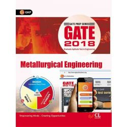 GATE - Metallurgical Engineering 2018 First Edition