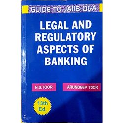 GUIDE TO JAIIB Q&A LEGAL AND REGULATORY ASPECTS OF BANKING NEW 13TH, EDITION 2018