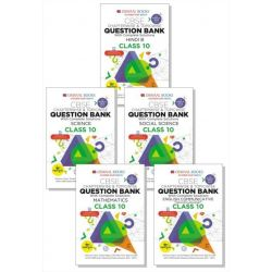 Oswaal CBSE Question Bank Class 10 (Set of 5 Books)