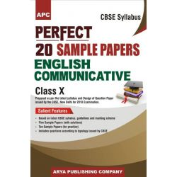 Perfect 20 Sample Papers English Communicative Class X