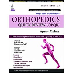 Orthopaedics Quick review 6ed 2018