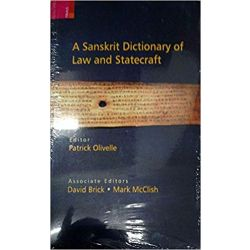A Sanskrit Dictionary of Law & Statement (PB)