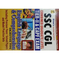 SSC Cgl Tier-Ii & Capf Exam English Language & Comprehension