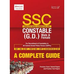 SSC CONSTABLE (GD) (CBE) A COMPLETE GUIDE