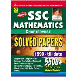SSC Mathematics Chapterwise Solved Papers 1999 - Till Date