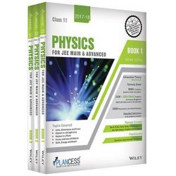 Study Material Physics for JEE Main and Advanced : Class 11th - Set of 3 Books