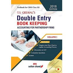 T.S. Grewal's Double Entry Book Keeping - CBSE XII Vol. 1