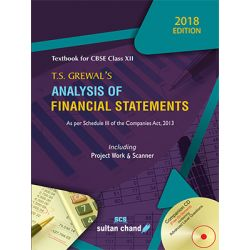 T.S. Grewal's Analysis of Financial Statements - CBSE XII